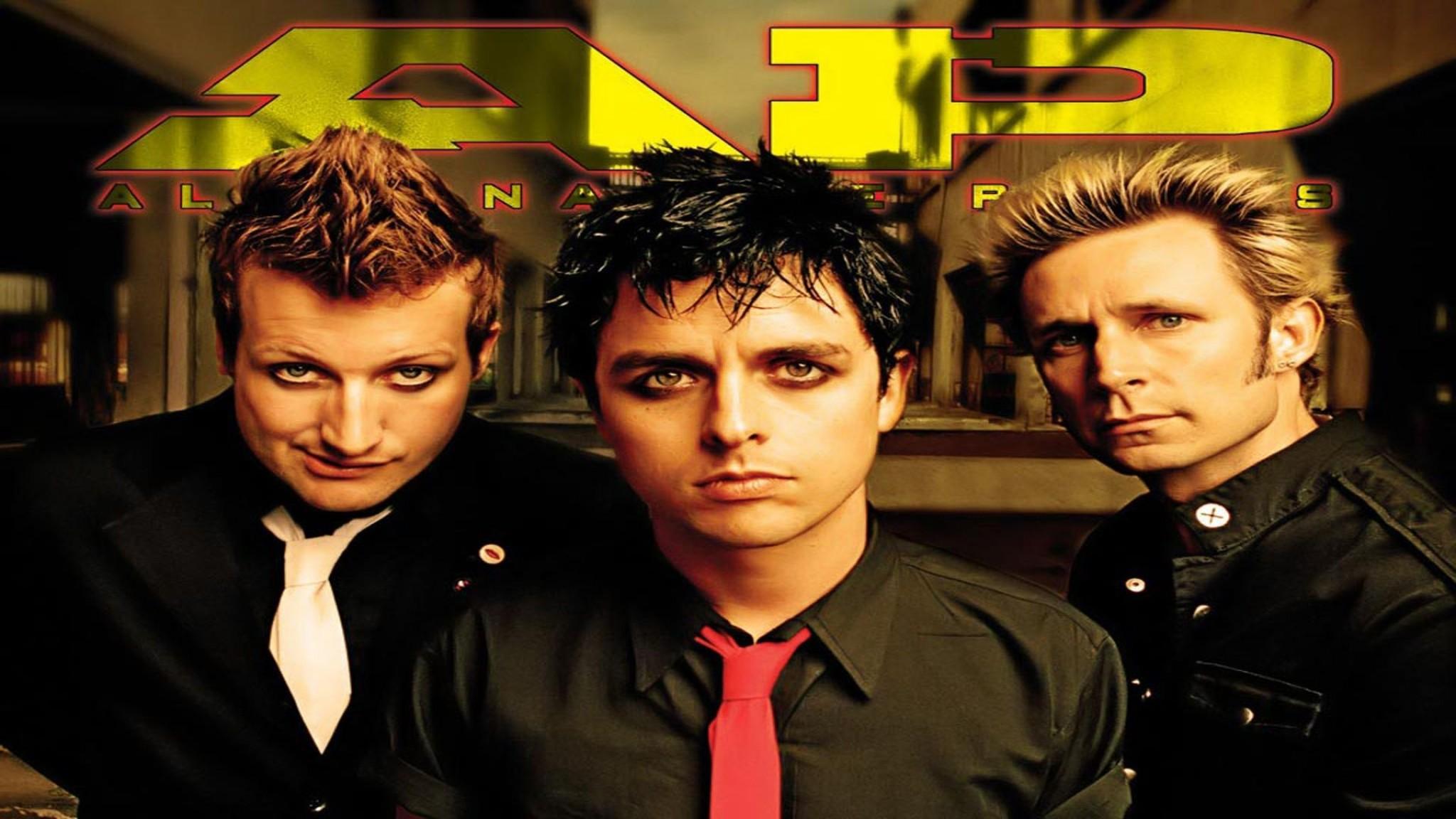Green Day Is An American Punk Rock B    Design HD Wallpaper