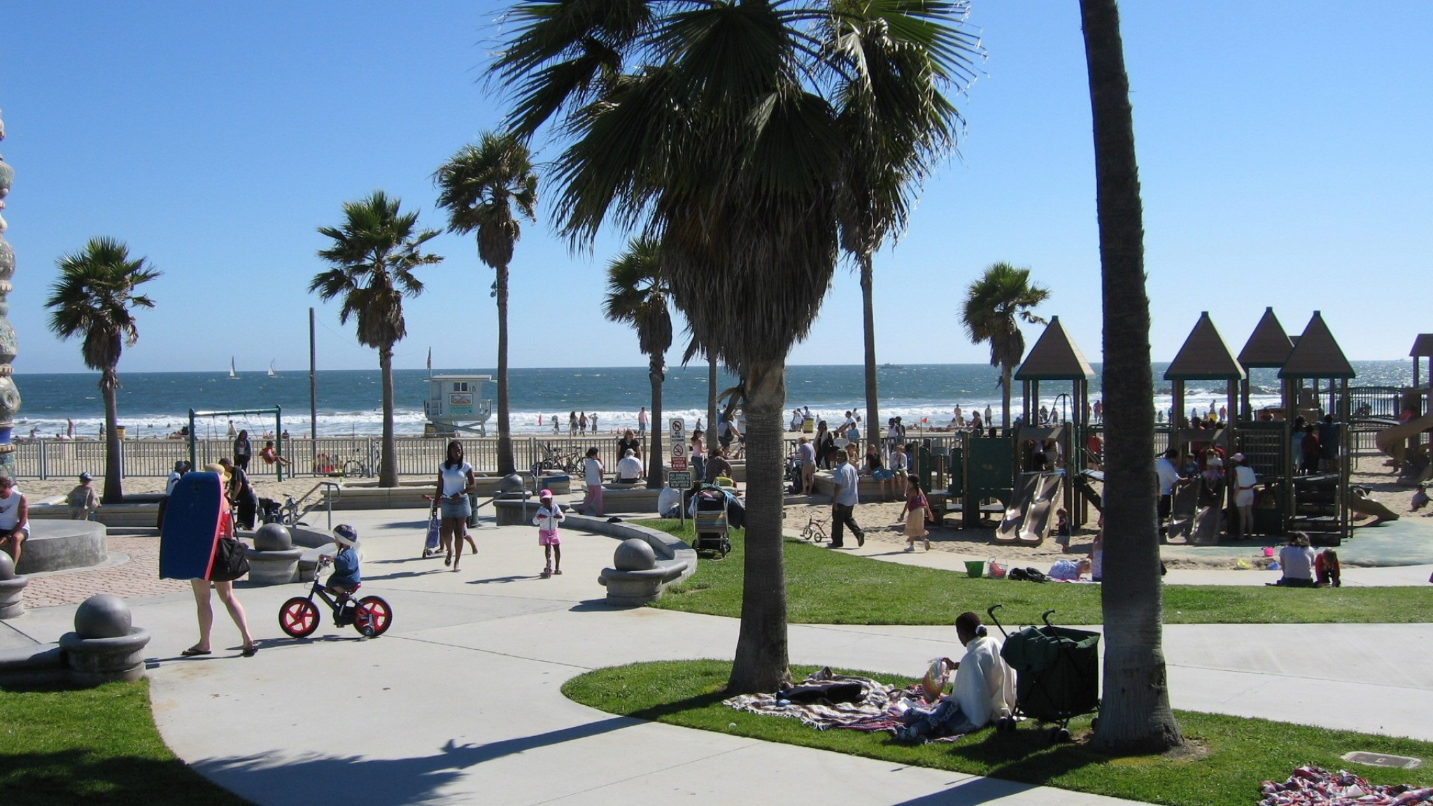 Venice beach los angeles united states    online HD Wallpaper