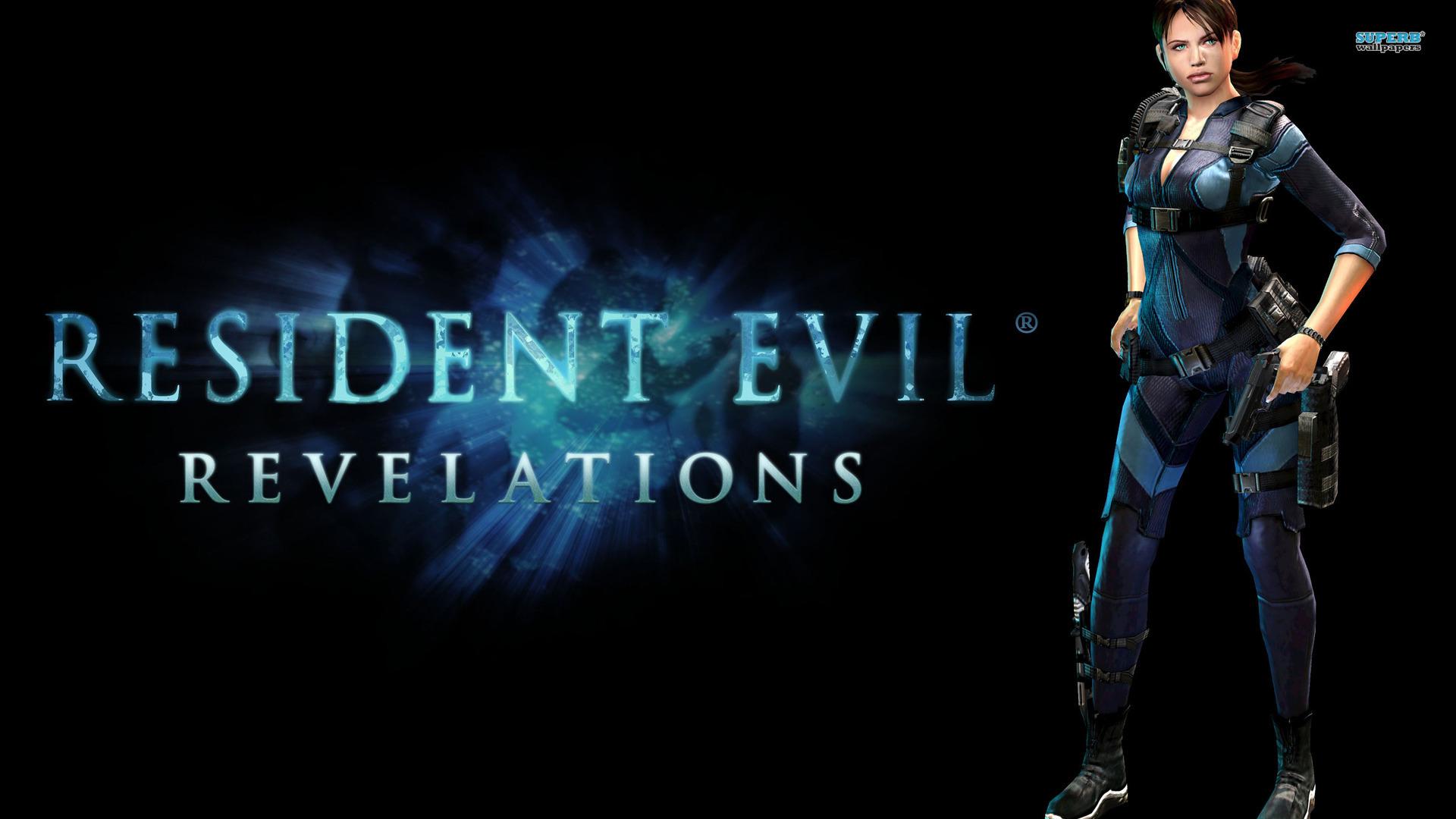 Jill Valentine   Resident Evil  Revelations    Game HD Wallpaper