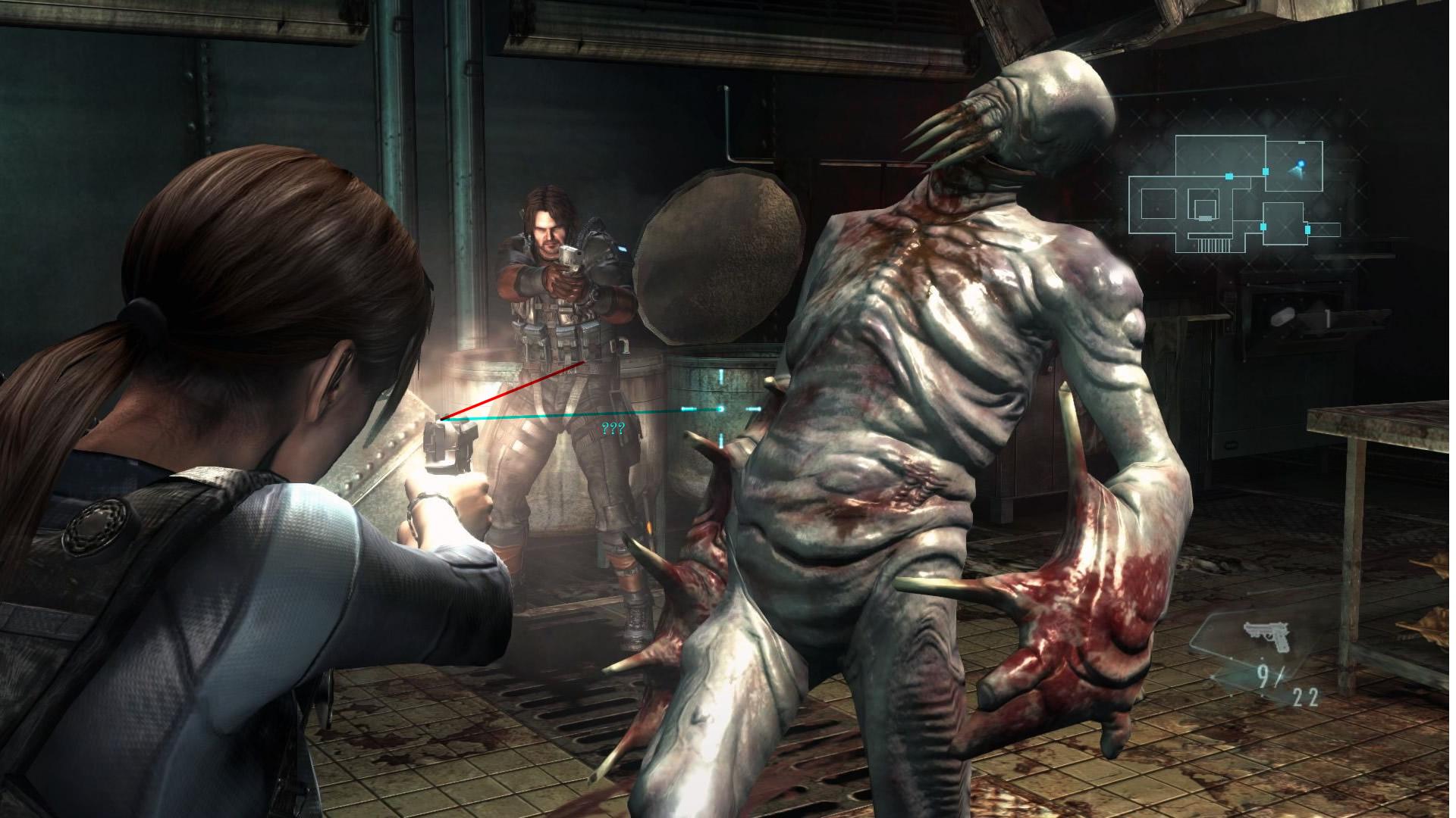 Resident Evil Network   Thread   Resident evil revelations laser HD Wallpaper