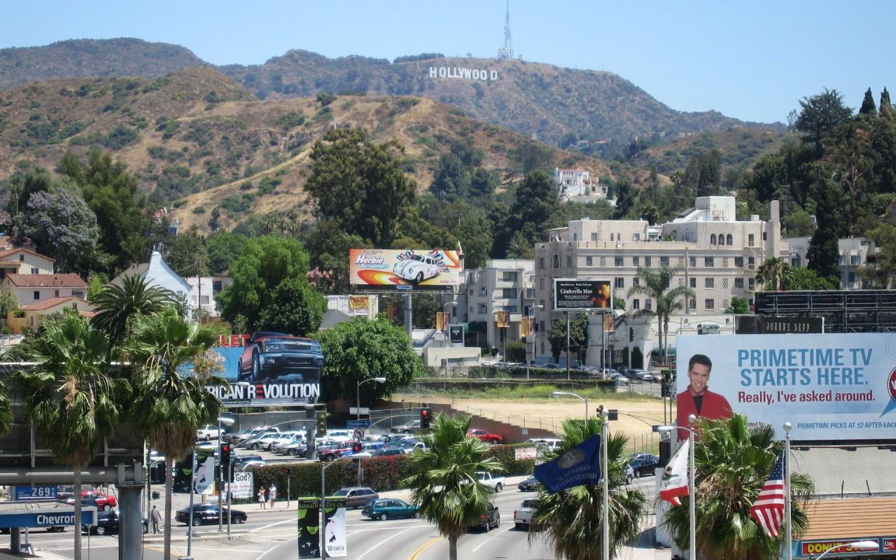 Hollywood  Los Angeles  California    Data HD Wallpaper