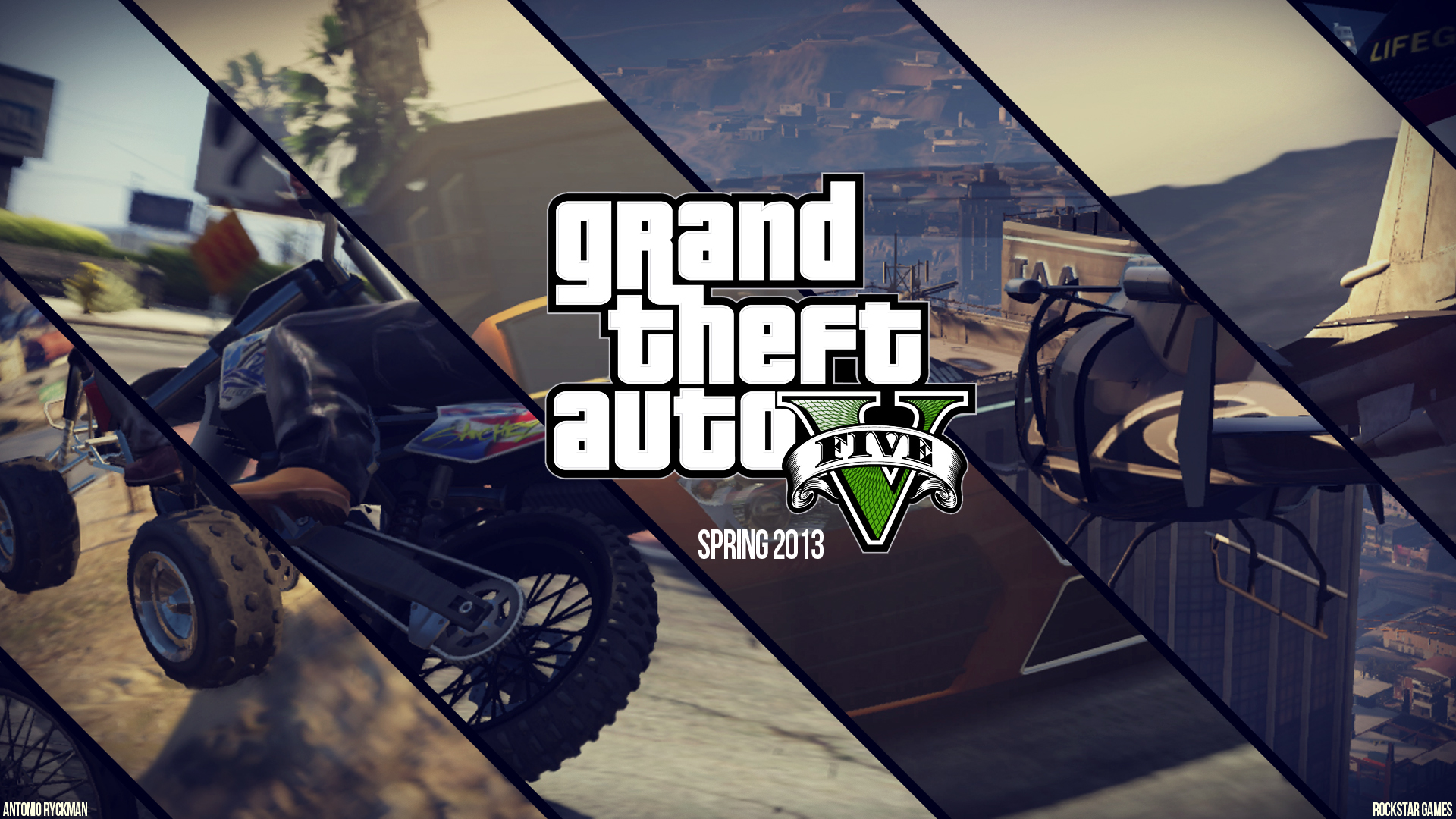 Grand Theft Auto V Release Date  Screens and Trailer   TechViral HD Wallpaper