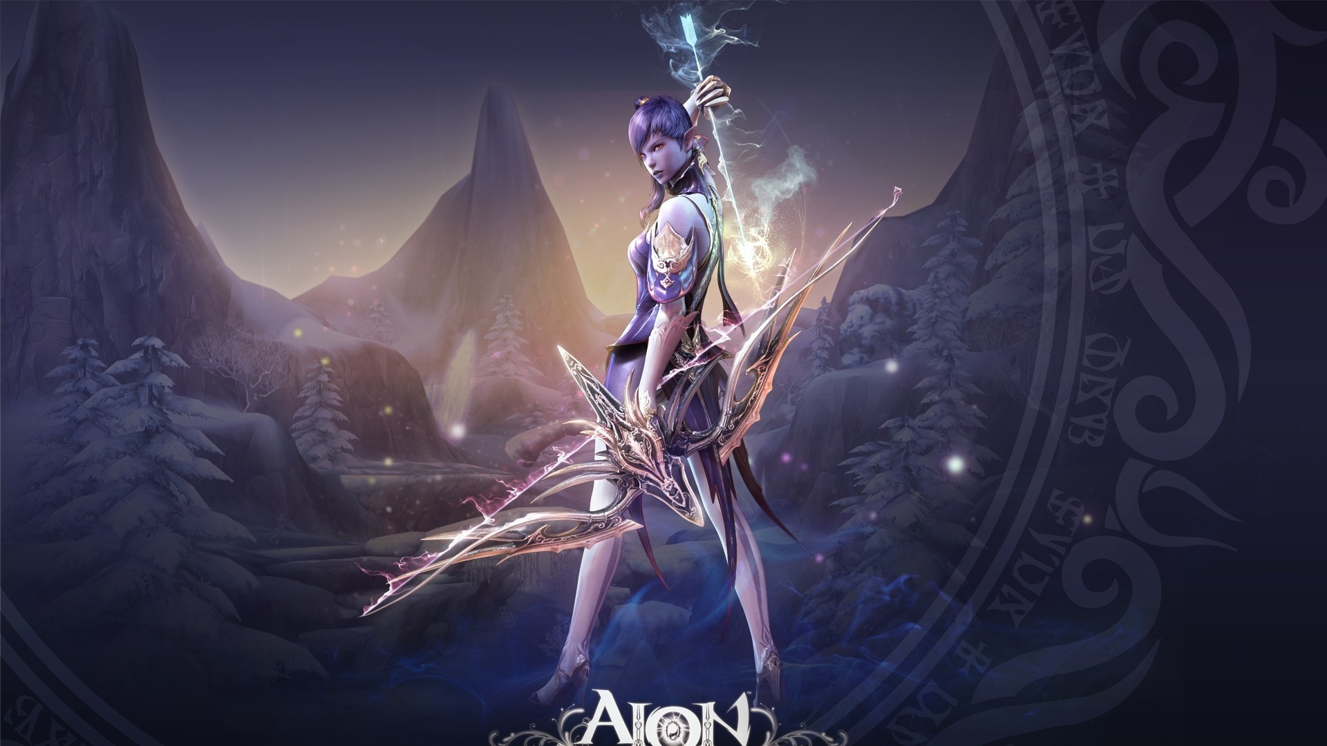Download 1920x1080 Full HD 1080p 1080i aion the tower of eternity HD Wallpaper