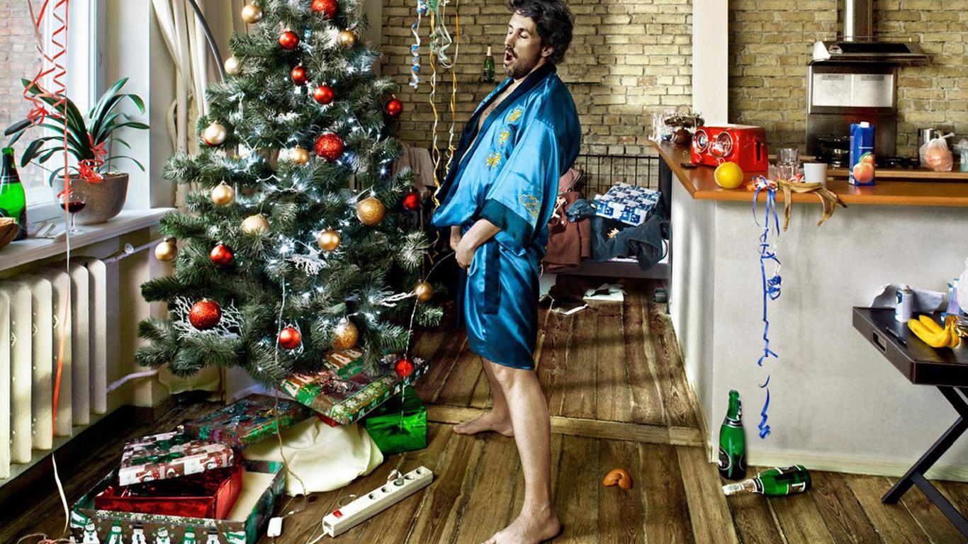 Morning After Christmas    Pulsar Ecard HD Wallpaper