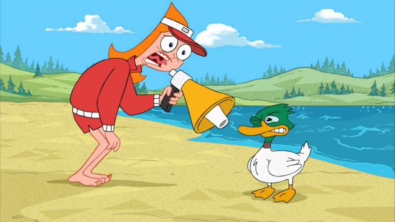 Phineas y Ferb Espa a  Candace Flynn HD Wallpaper