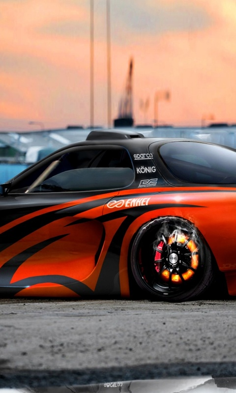 480x800 mazda rx7  virtual tuning  Tuning         64544 HD Wallpaper