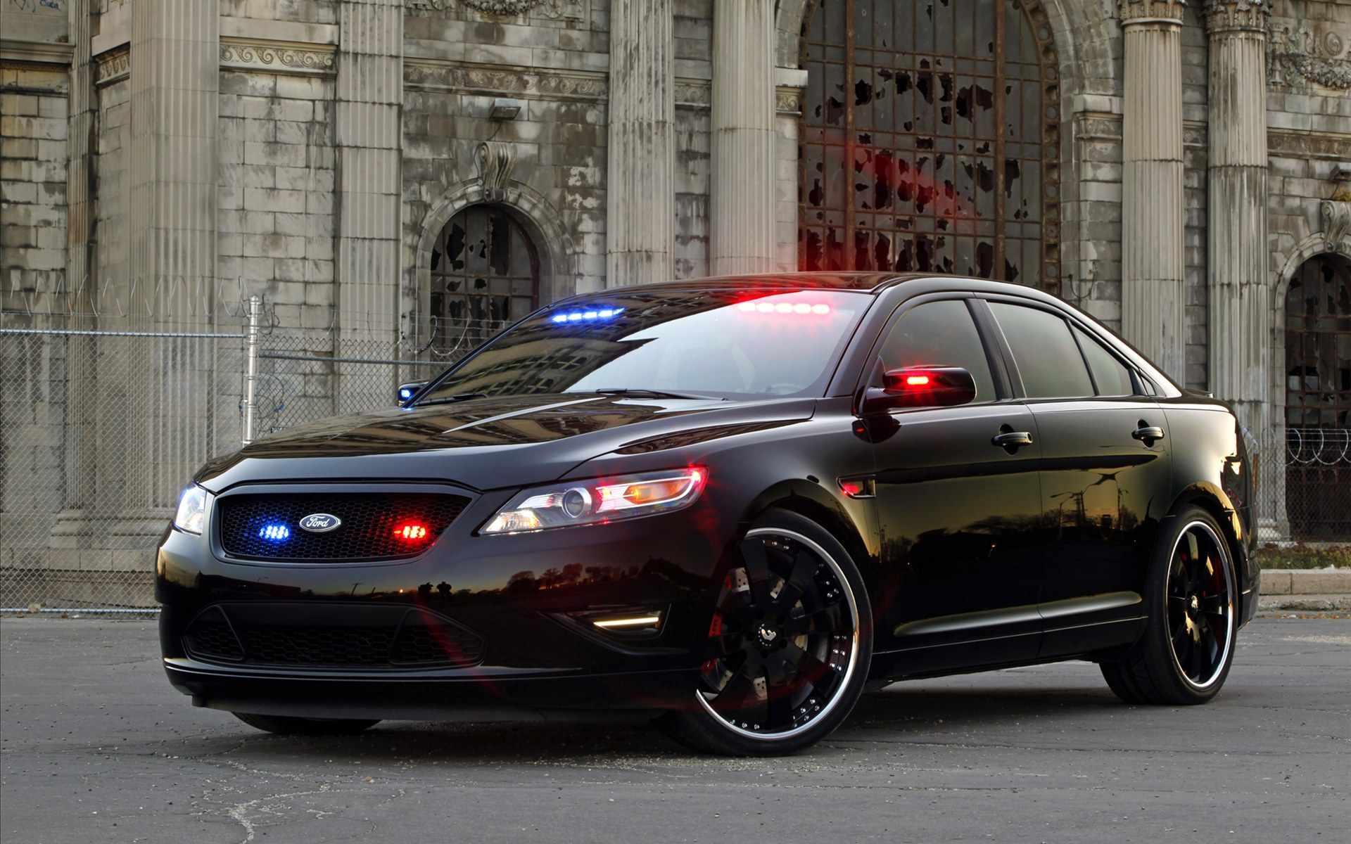 2010 Ford Stealth Police Interceptor Concept    HD Car HD Wallpaper