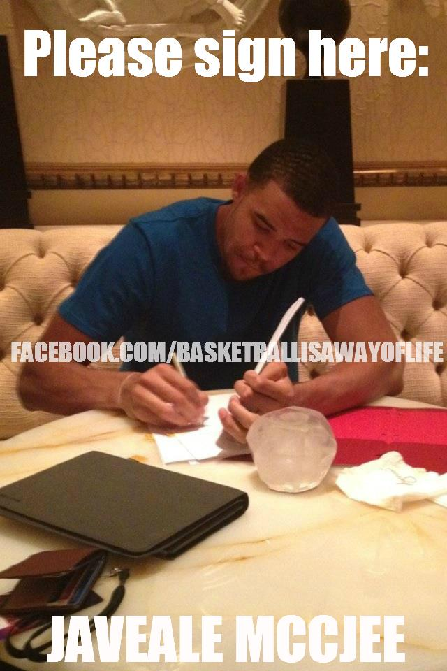 Photos  JaVale McGee memes continue idiot theme after he signs  44 HD Wallpaper