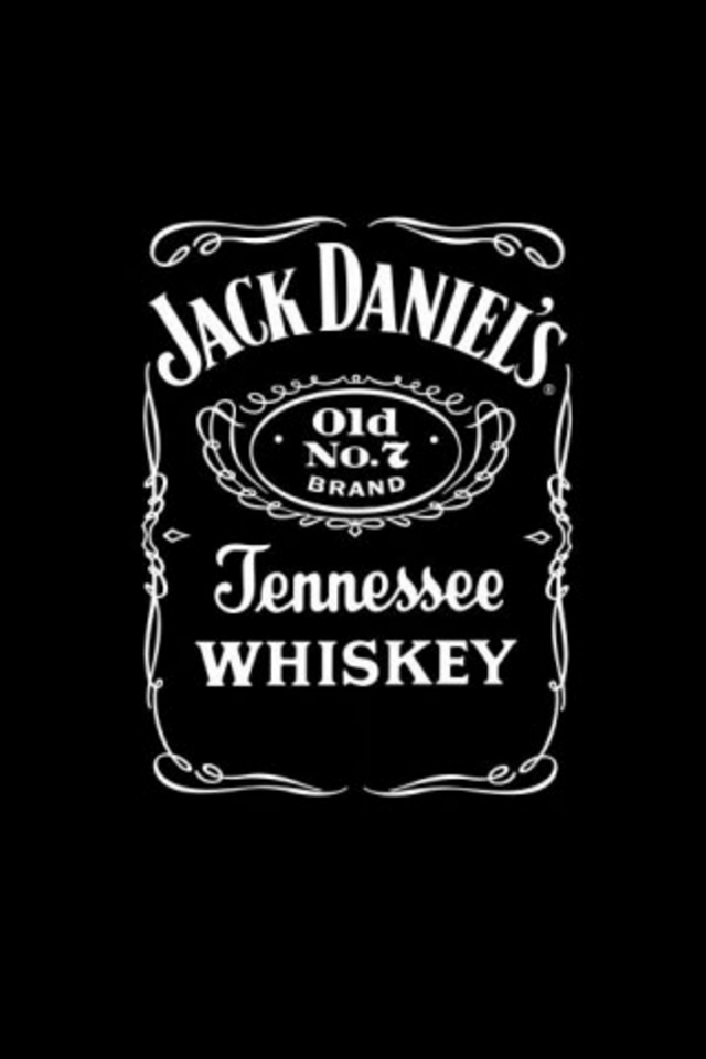 Jack Daniels Logo iPod Touch  Background and Theme Drink HD Wallpaper