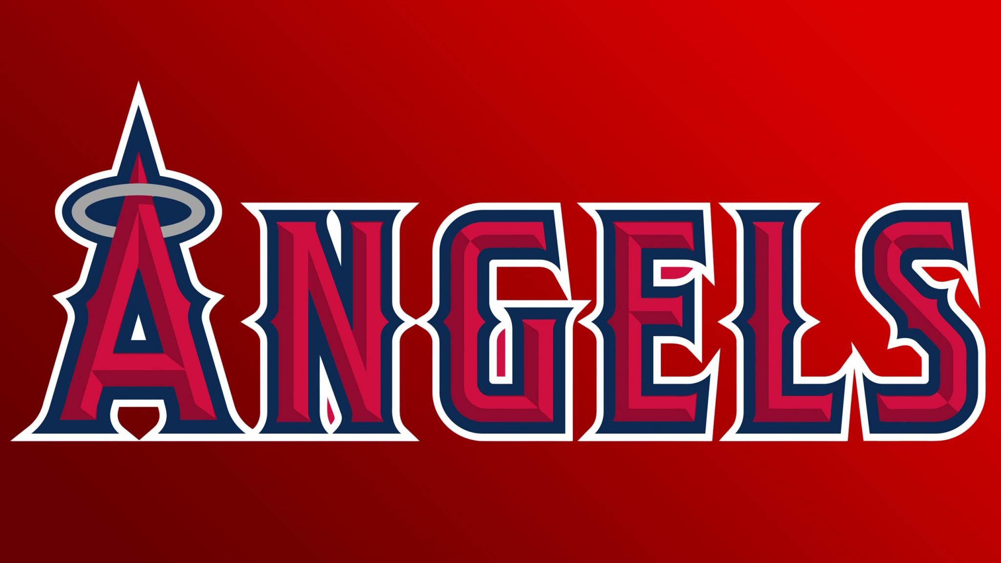 Los Angeles Angels Of Anaheim  Logo  Baseball    Feed HD Wallpaper
