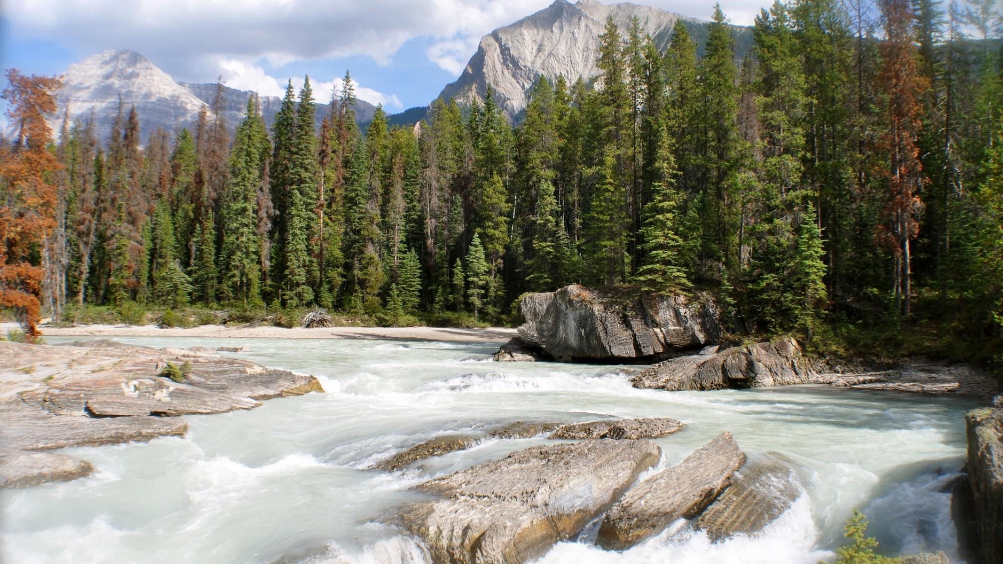 Kicking Horse River Natura 1515   tapety HD HD Wallpaper