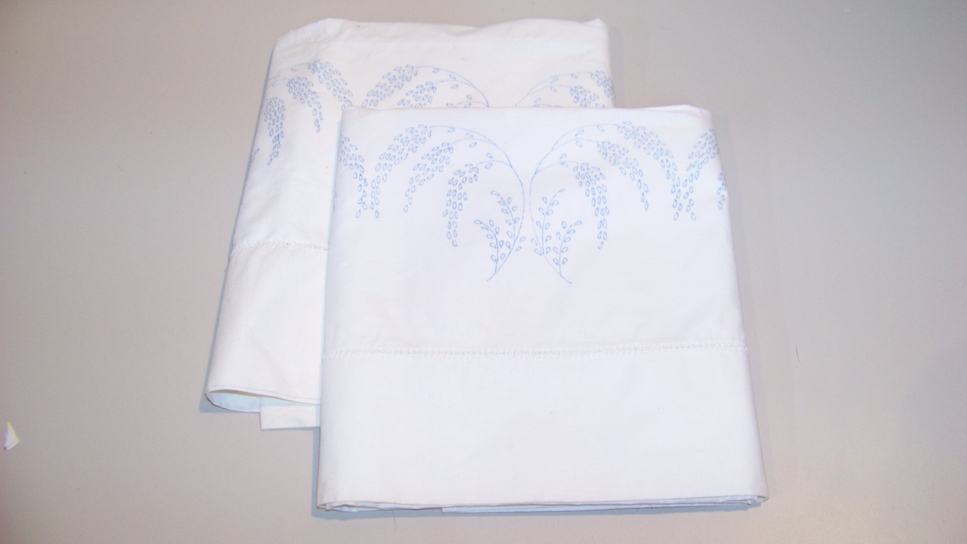 Vintage Vine Flowers Embroidery Pillow Cases DIY Free Shipping   eBay HD Wallpaper
