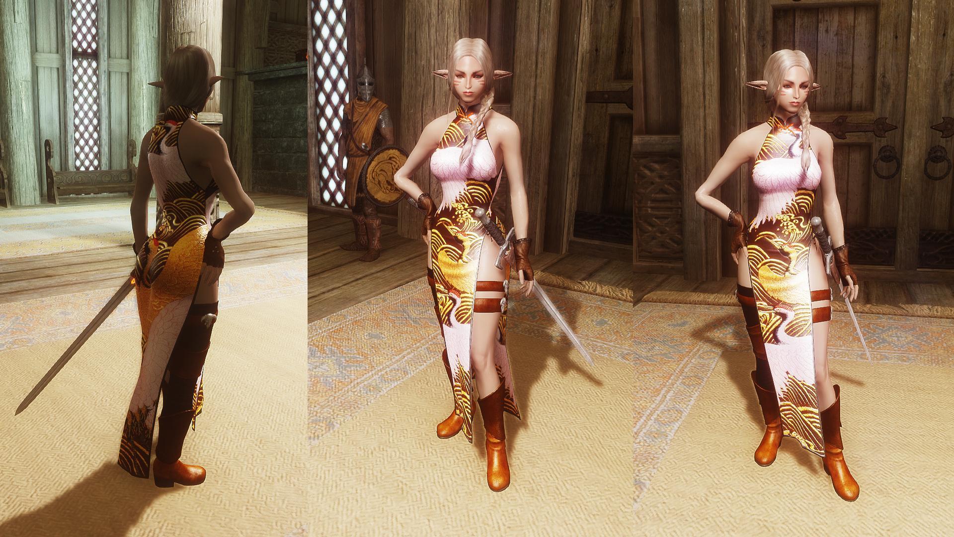 Pretty Female Idles at Skyrim Nexus   Skyrim mods and community HD Wallpaper