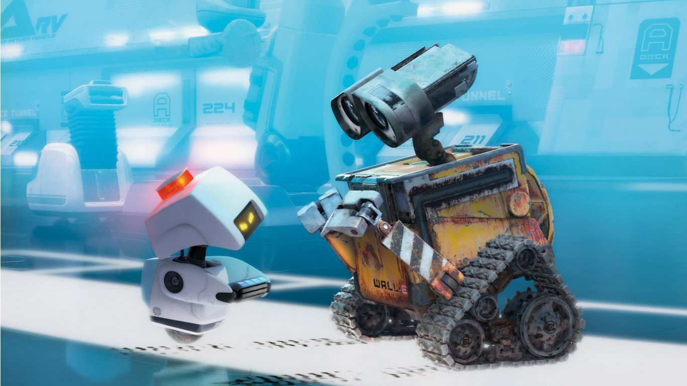 wall e and mo desktop  HD Wallpaper
