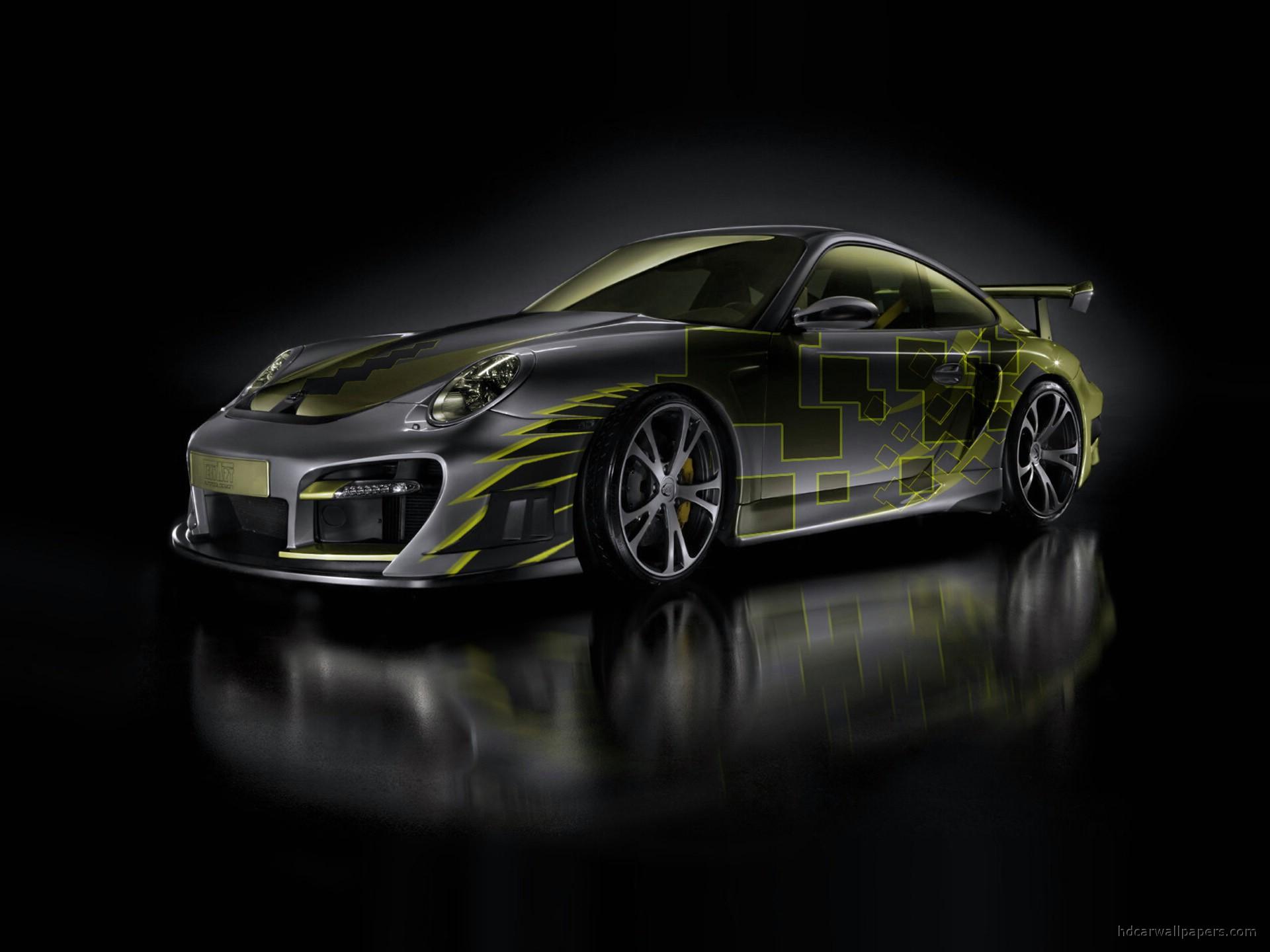 Techart Porsche 911 Turbo Exclusive HD    HD Wallpaper