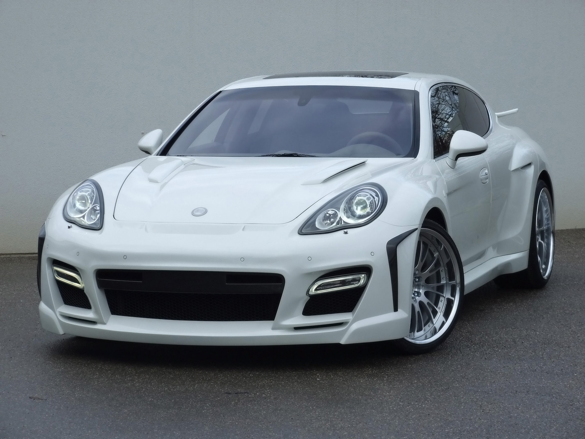Special cars  Porsche Panamera Turbo by FAB Design HD Wallpaper