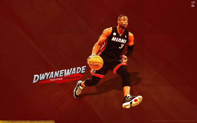 Dwyane Wade Miami Heat 2013   new  HD Wallpaper
