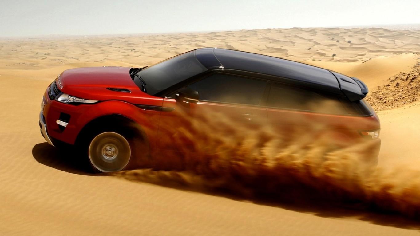 Land Rover Range Rover Evoque Coupe desert    on line HD Wallpaper