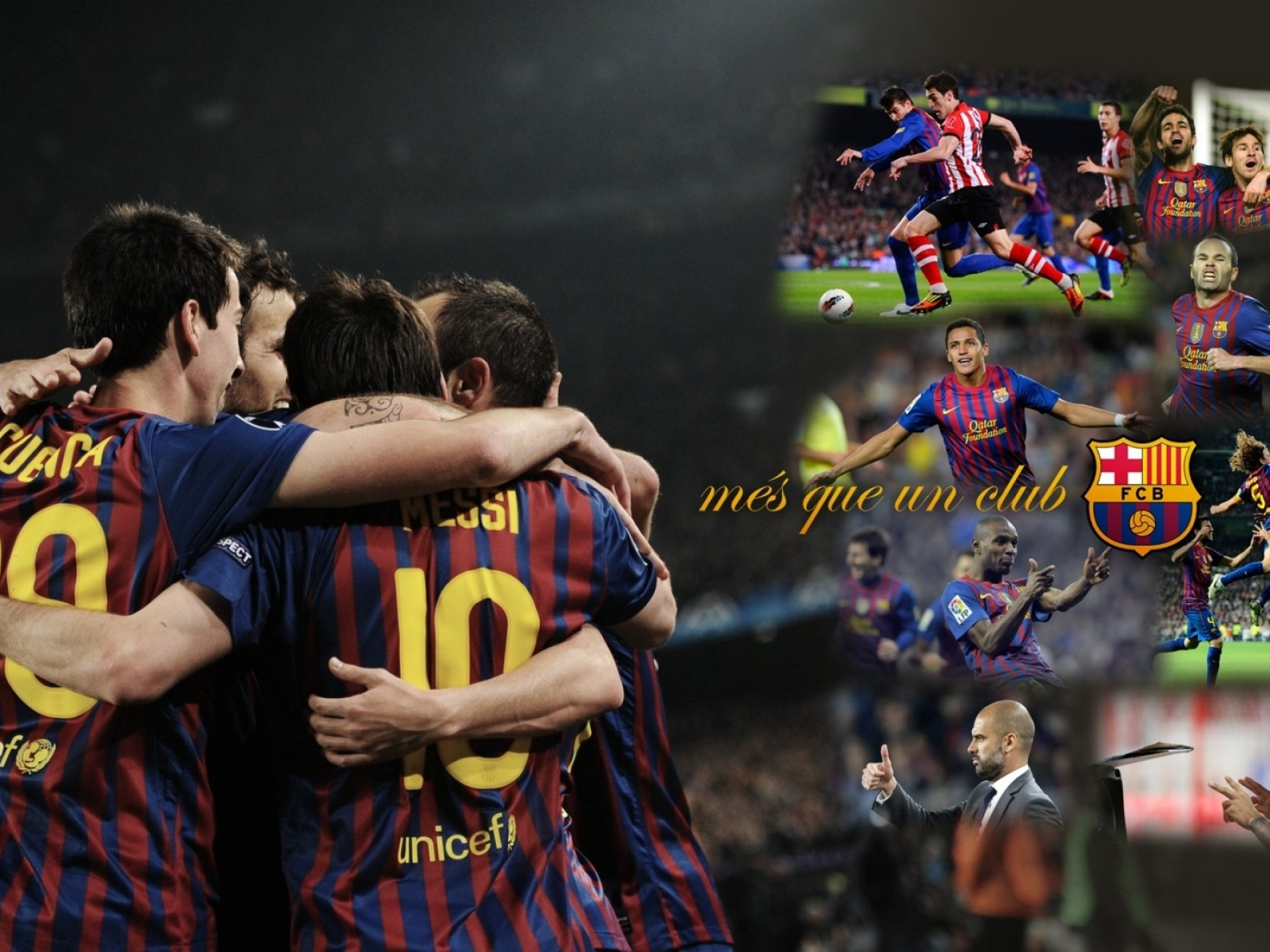 Soccer Barcelona Lionel Messi Wembley Football Teams Barca HD Wallpaper