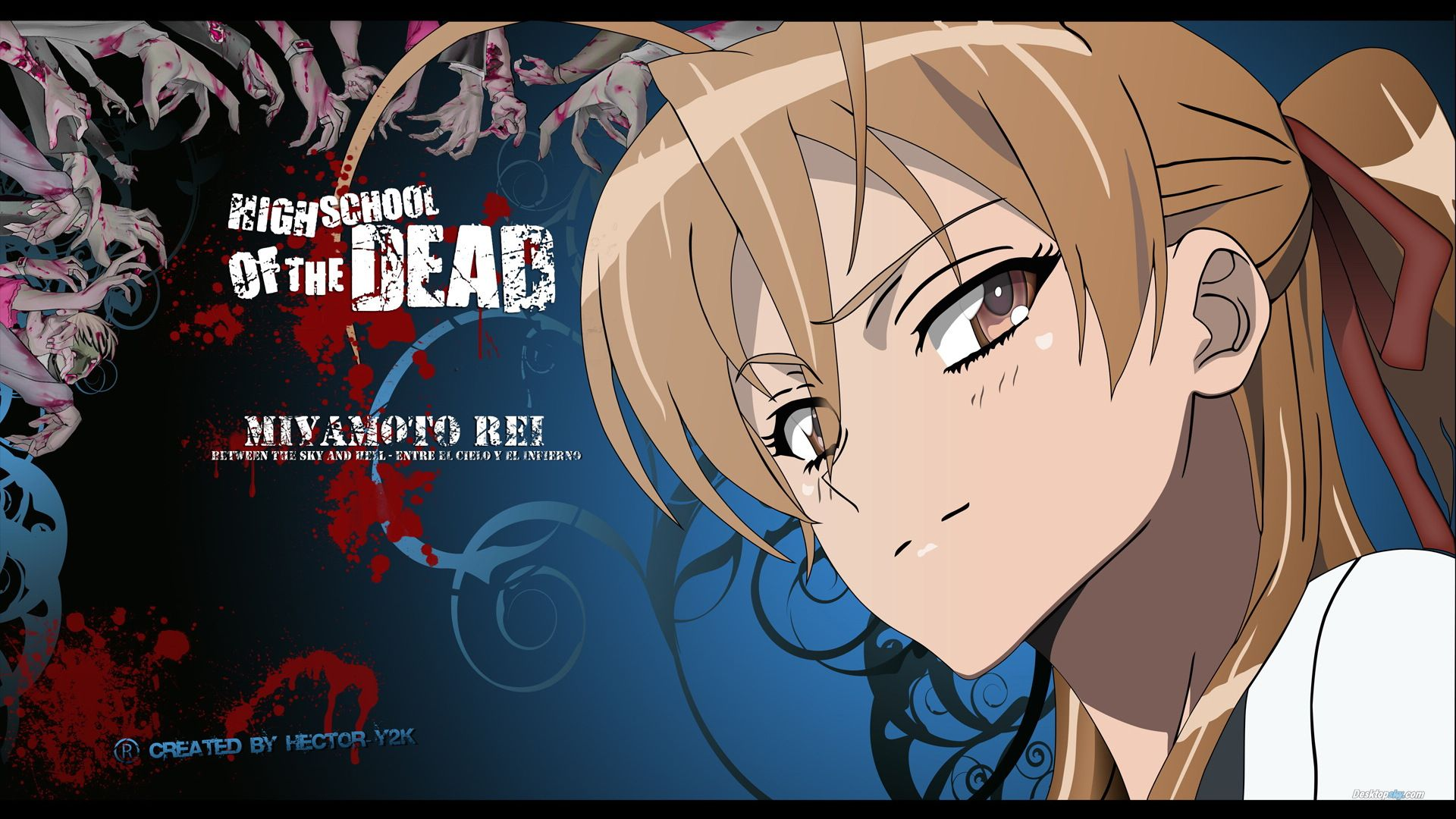 High School of the Dead   us  HD Wallpaper