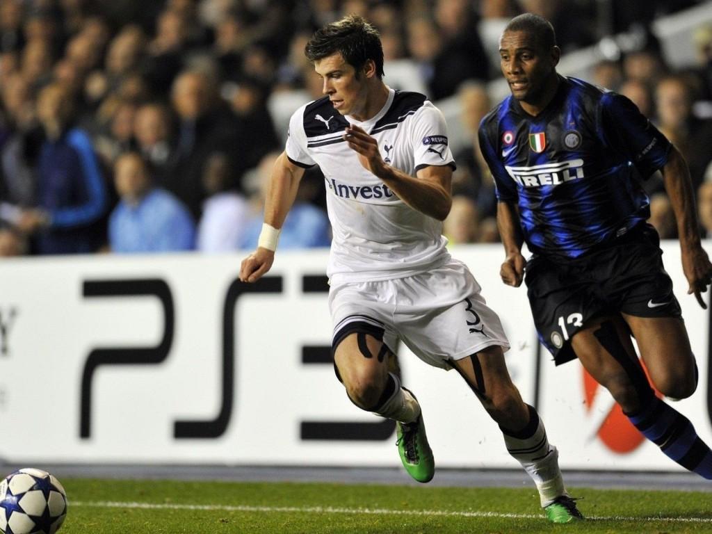 Gareth Bale  Maicon  Tottenham Hotspur  Inter Milan   The  HD Wallpaper
