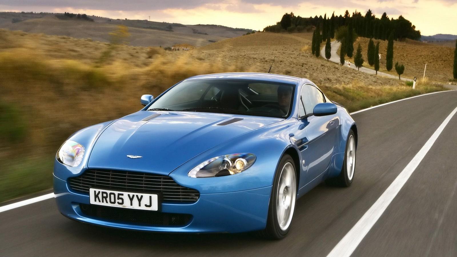 Aston Martin V8 Vantage  Sports Car  HD   Backgrounds HD Wallpaper