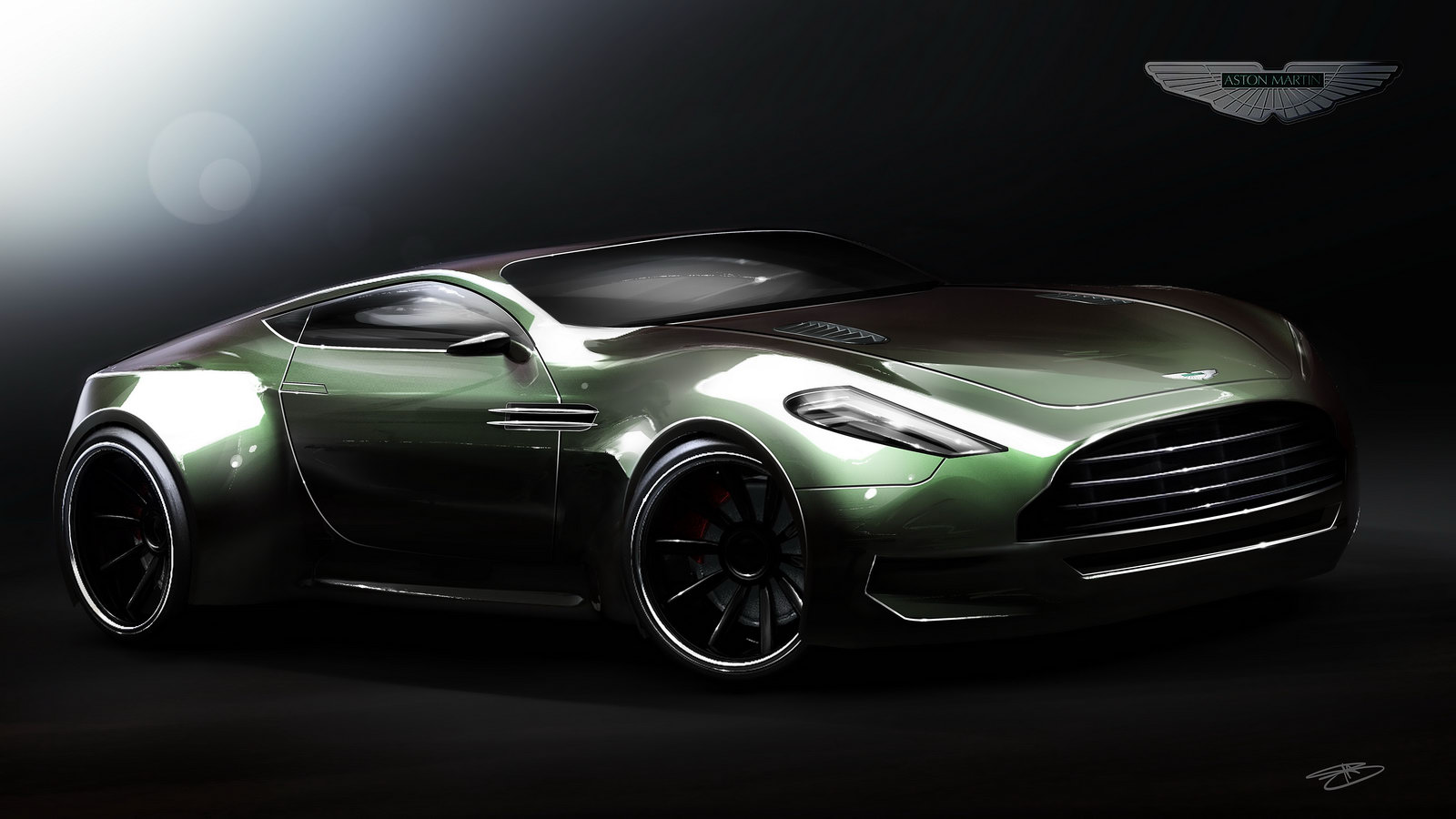 Aston Martin Veloce Design Study HD Wallpaper