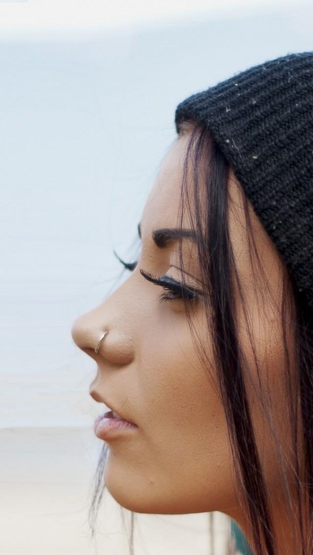 Beautiful  Girl  Nose Ring   All  HD Wallpaper