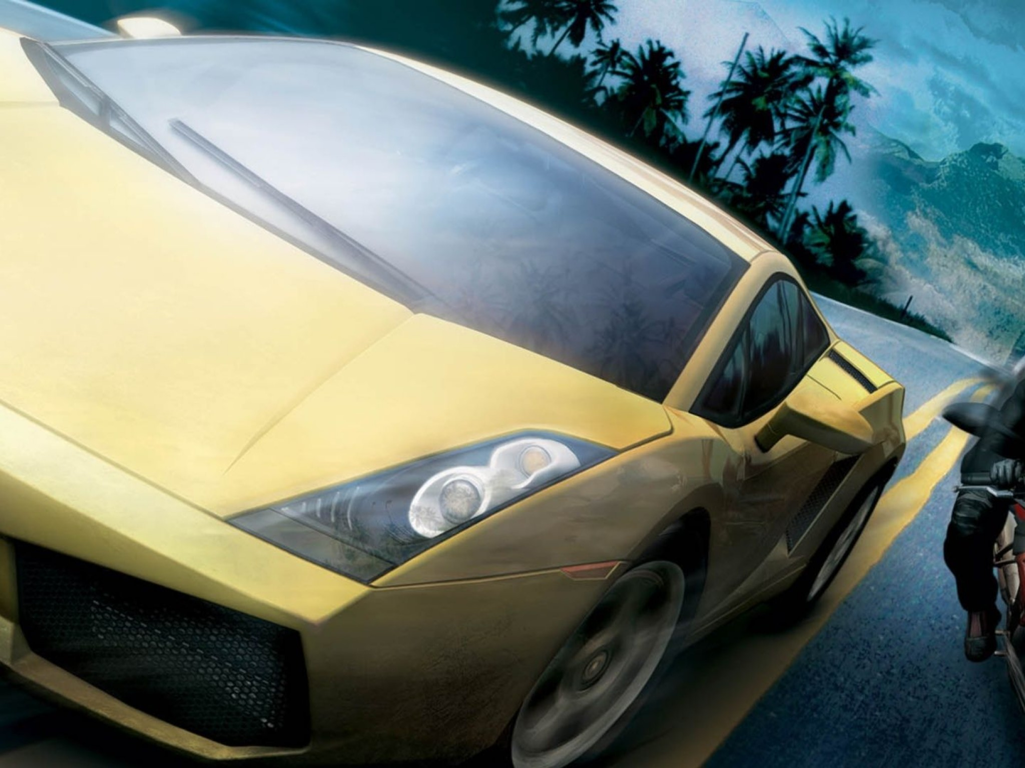 Test Drive Unlimited 2    Be HD Wallpaper