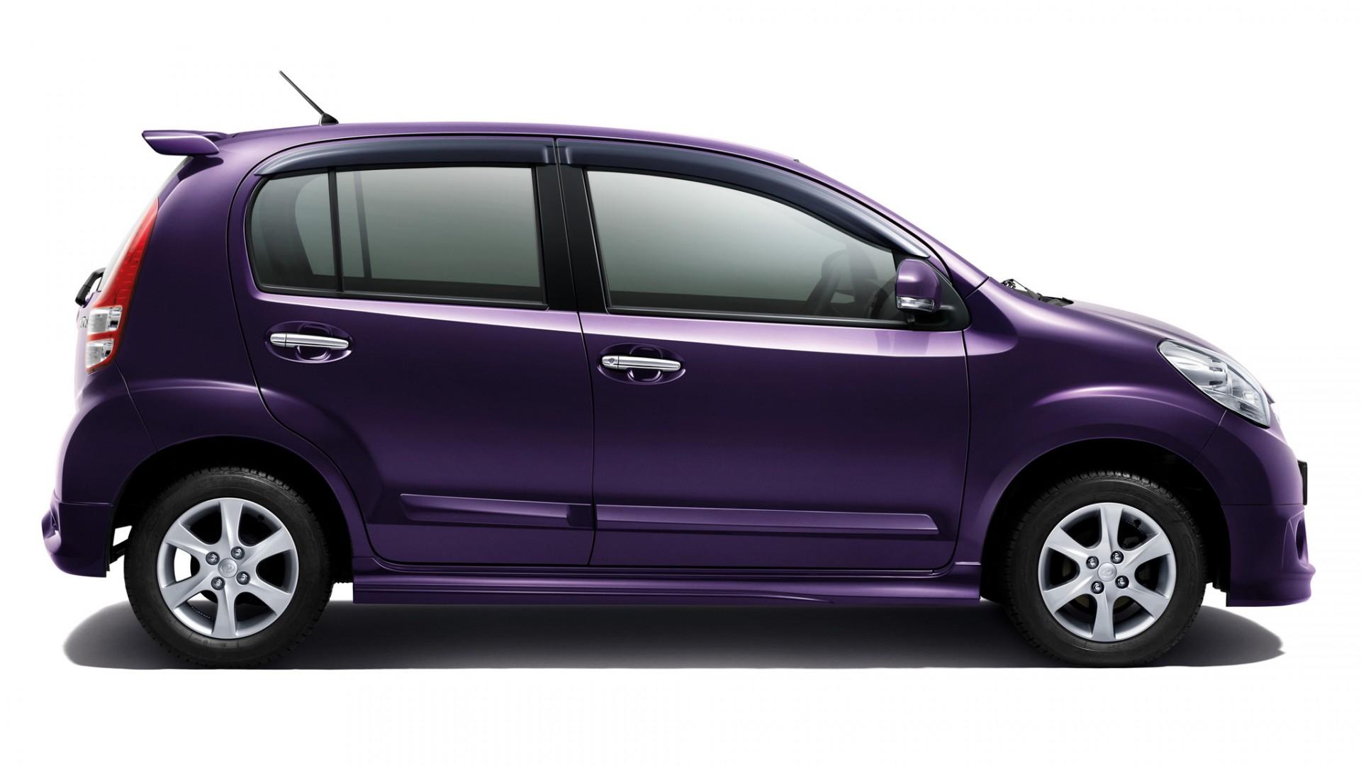 2011 Perodua MyVi Elegance side   Car  free download HD Wallpaper