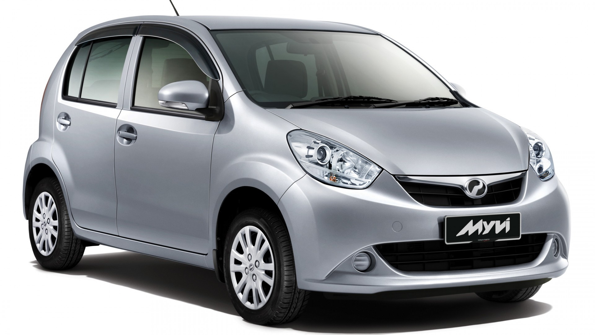 2011 Perodua MyVi Front Angle   Car  free download HD Wallpaper