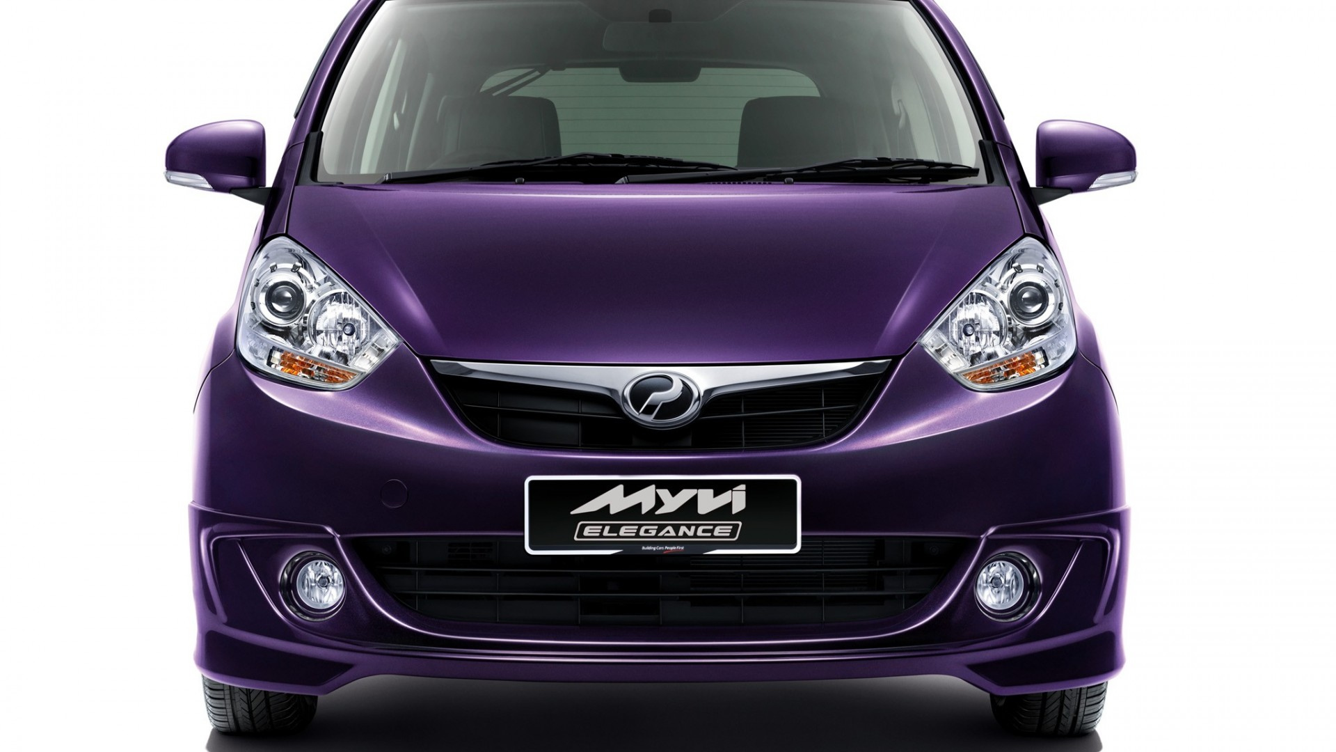 2011 Perodua MyVi Elegance front   Car  free download HD Wallpaper