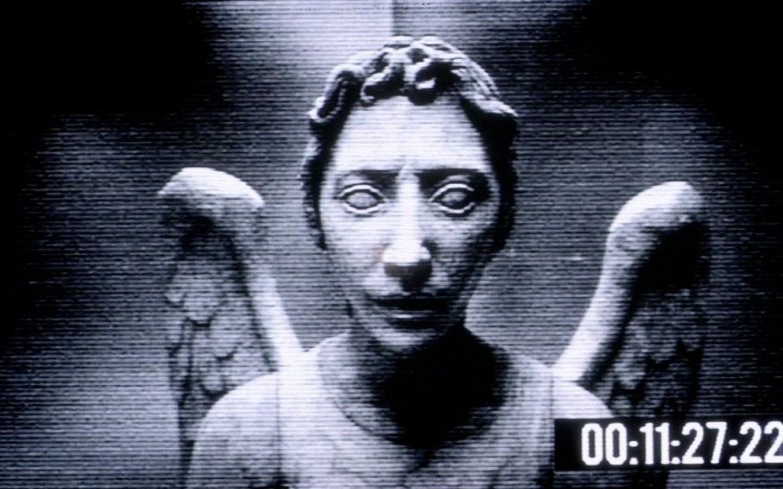 Doctor who  1366x768 doctor weeping angel    31042 HD Wallpaper