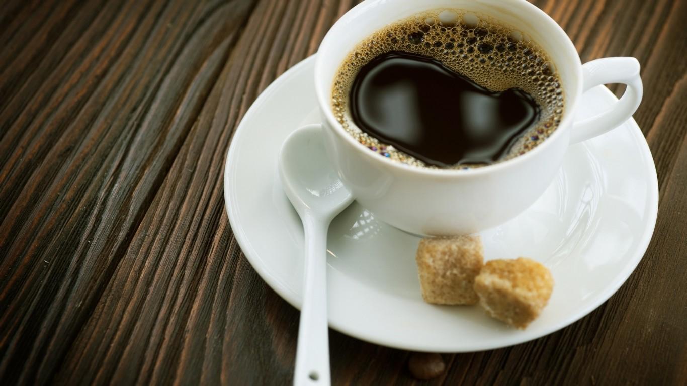 cup  coffe  foam  wood  sugar  spoon   Free  HD Wallpaper