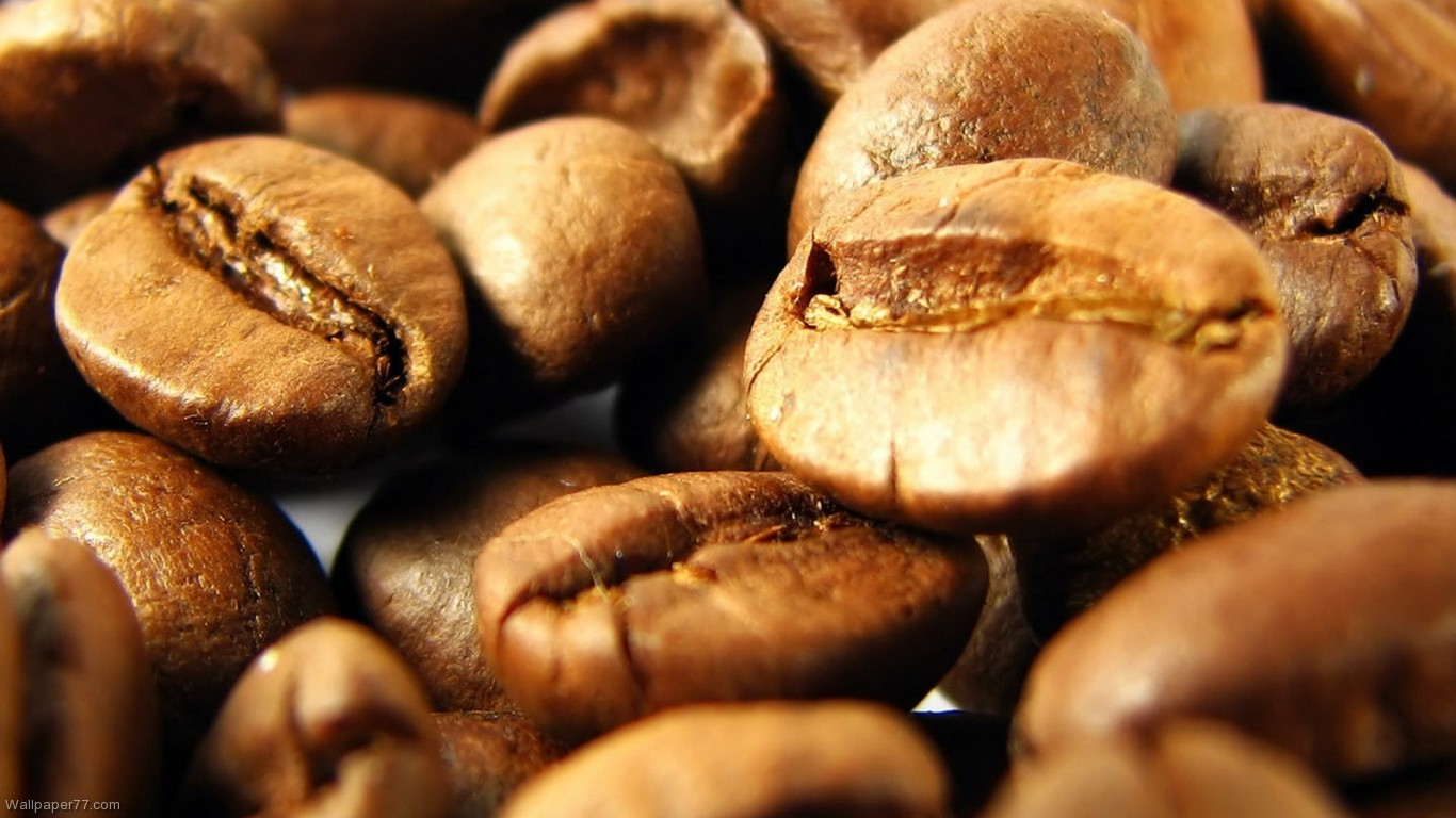 Coffe Beans 1600x1200  1366x768 pixels    tagged Drink HD Wallpaper