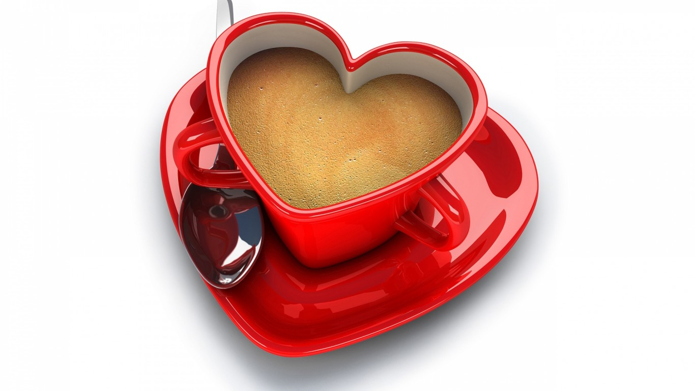 Coffe Love Food Coffee Cup 1366x768    77223  coffe HD Wallpaper
