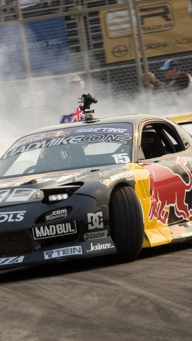 Mazda RX7 drift    as HD Wallpaper