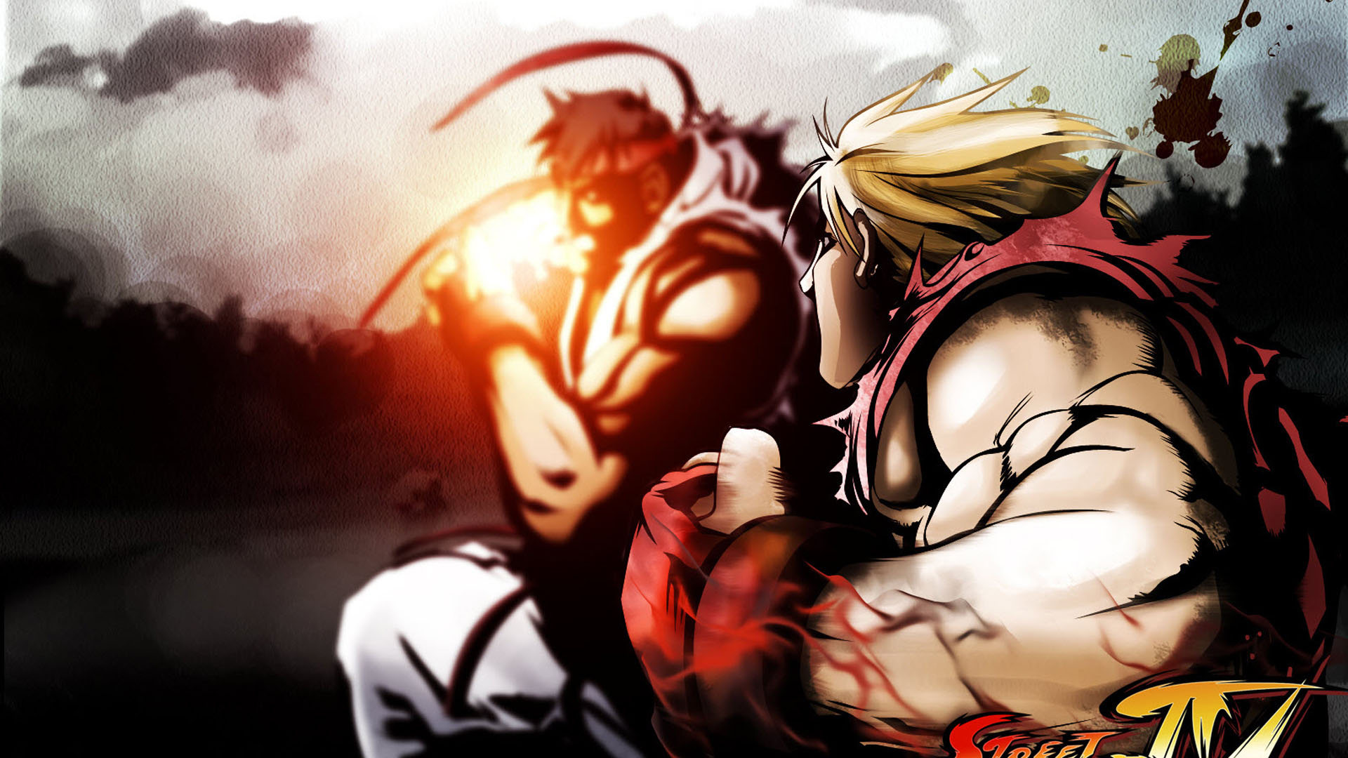 Street Fighter 4 Game 1920x1080 HD 1080p    Game  HD Wallpaper