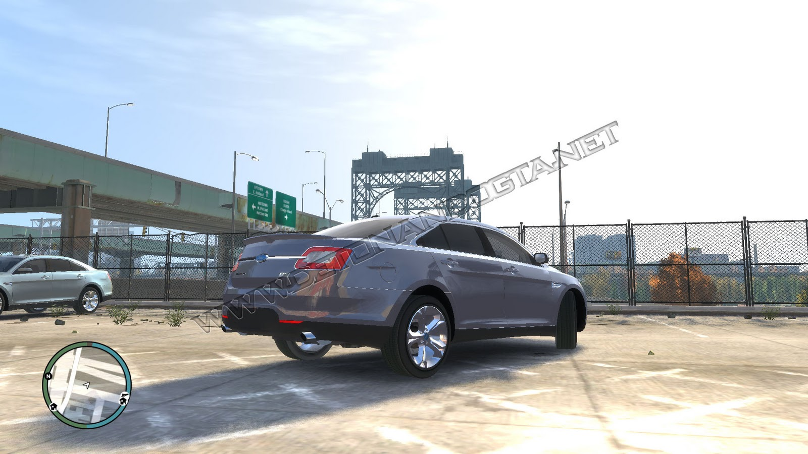 DG  GTA IV   Ford Taurus 2010 HD Wallpaper
