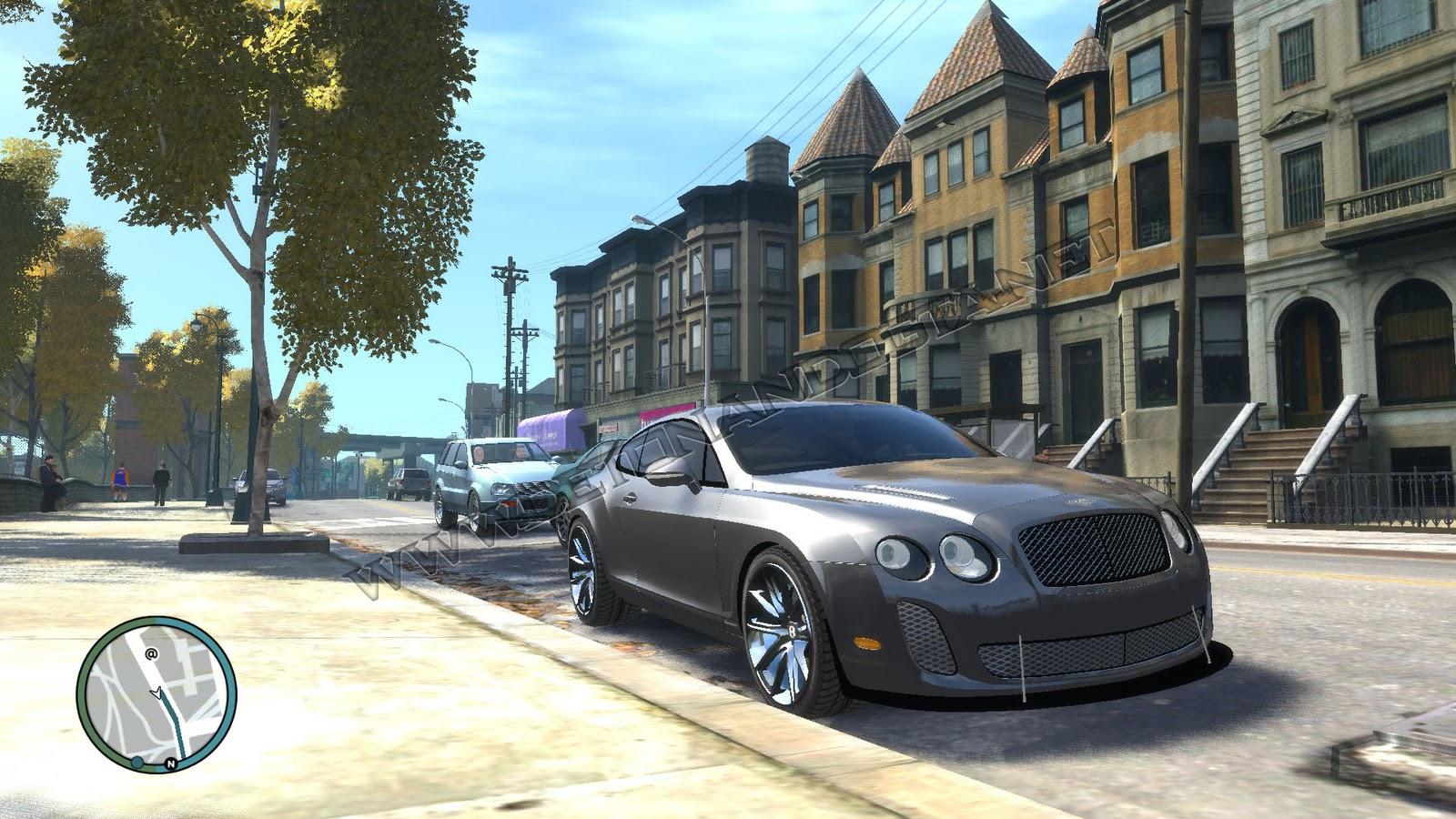 DG  GTA IV   Bentley Continental HD Wallpaper
