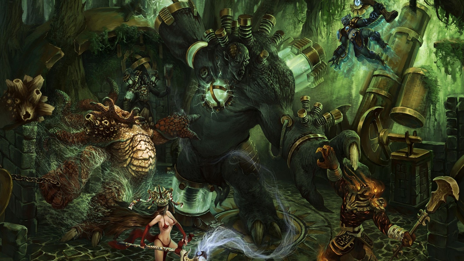 Heroes Of Newerth  Game  Pc Games  Game  Video Game  Computer Game HD Wallpaper