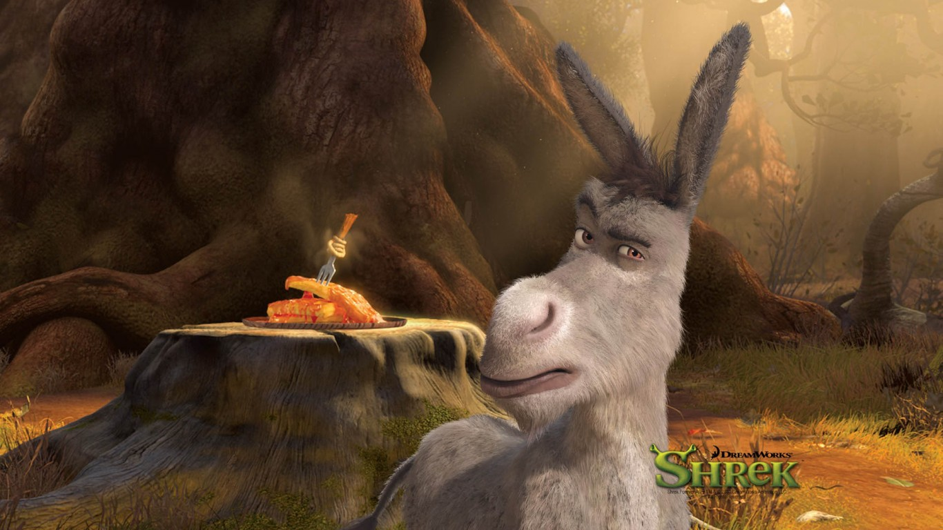 Amway Forever And A Day Donkey Shrek After HD Wallpaper