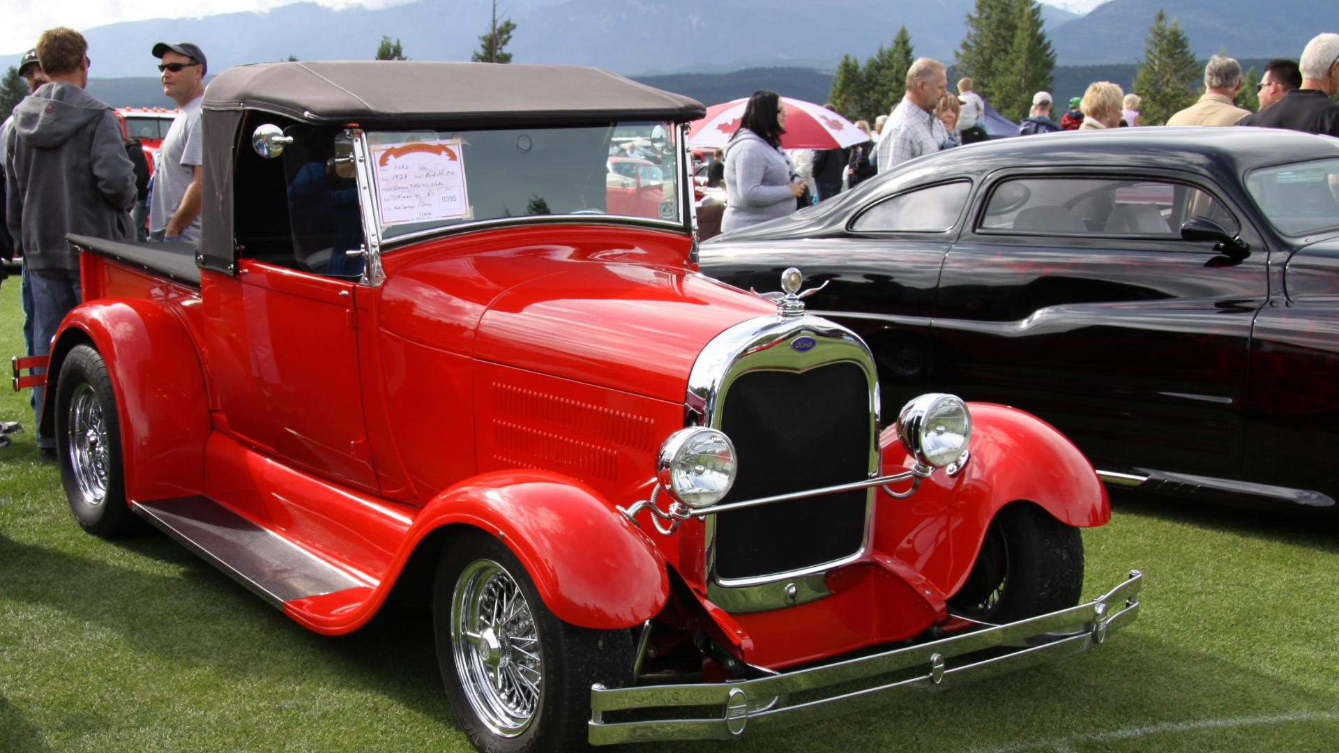 Ford 1928 in Radium Hot Springs car show 28     42080 HD Wallpaper