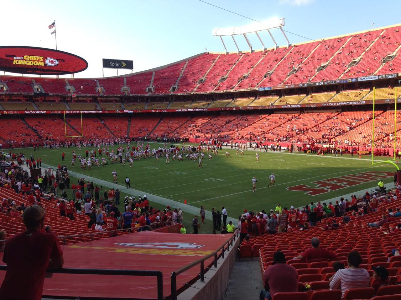 Arrowhead Stadium Section 112 Seat Ratings   Pictures   Chiefs Game HD Wallpaper