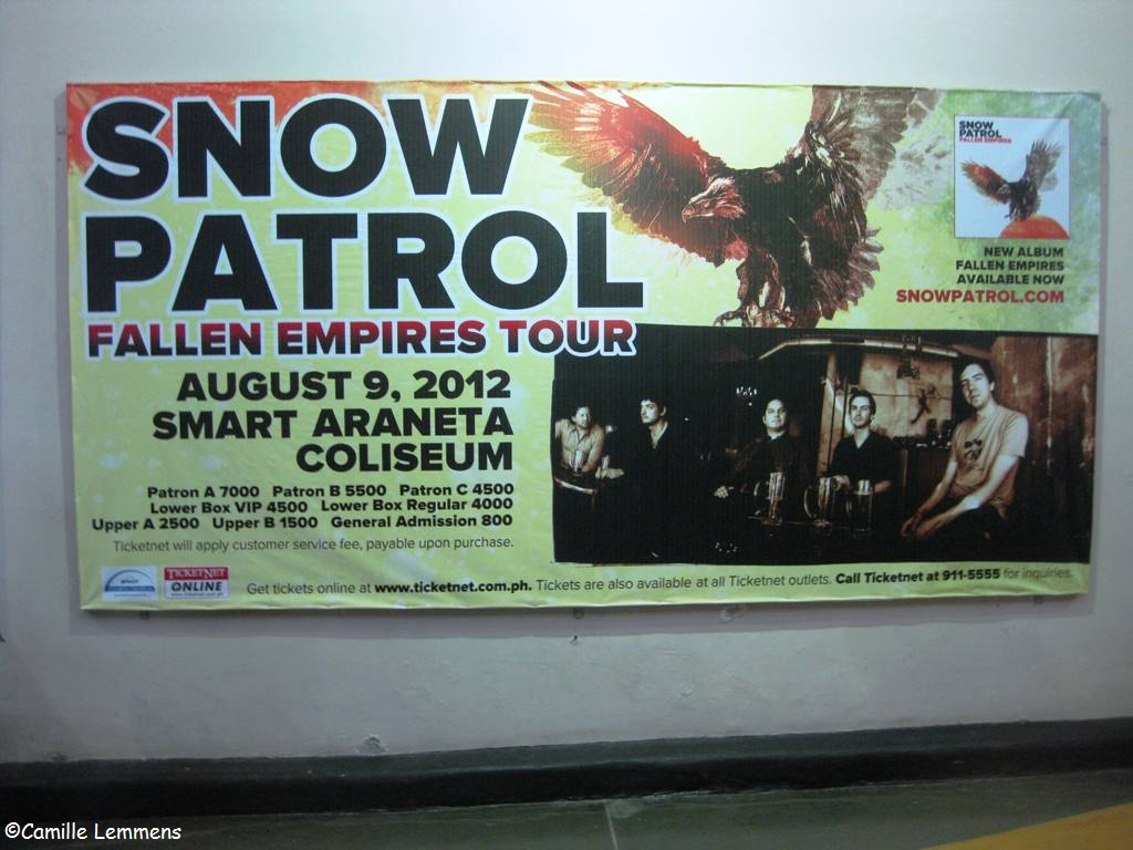 Camille s Samui Info blog  Snow Patrol  live in Manila at the HD Wallpaper