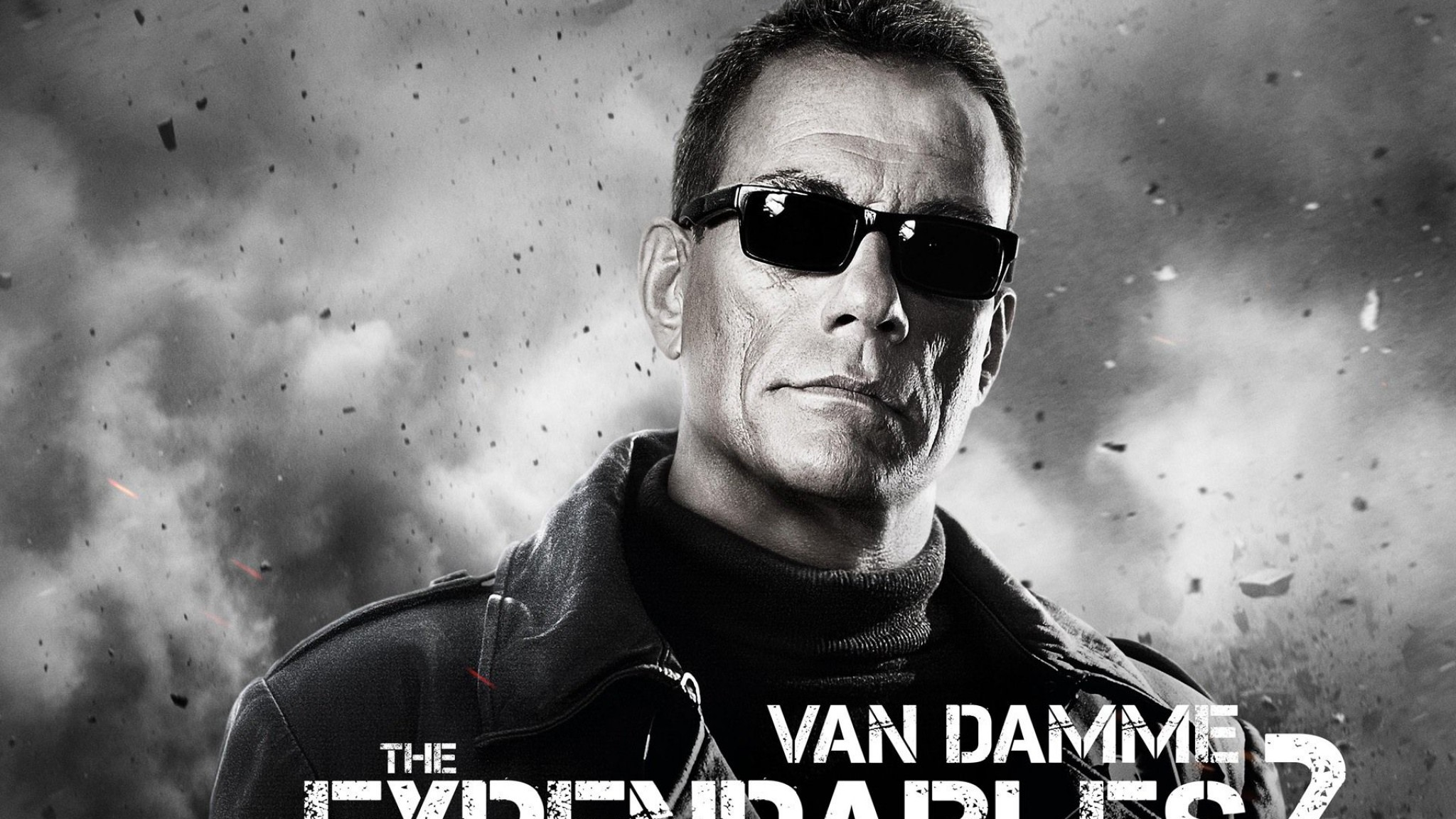 The Expendables 2 Movie Jean Claude Van Damme   us  HD Wallpaper