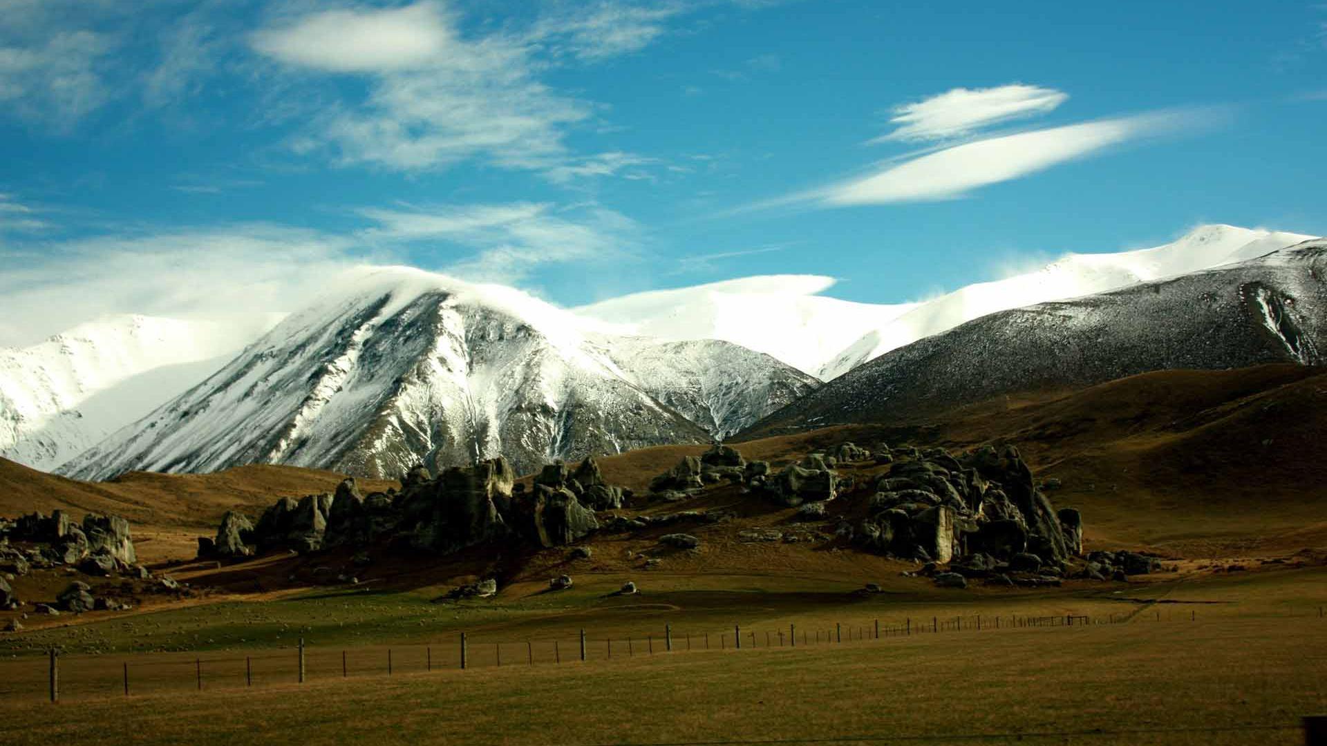 Snow Scenes Mountain Landscape   1920x1080px    154008 218 94 KB HD Wallpaper