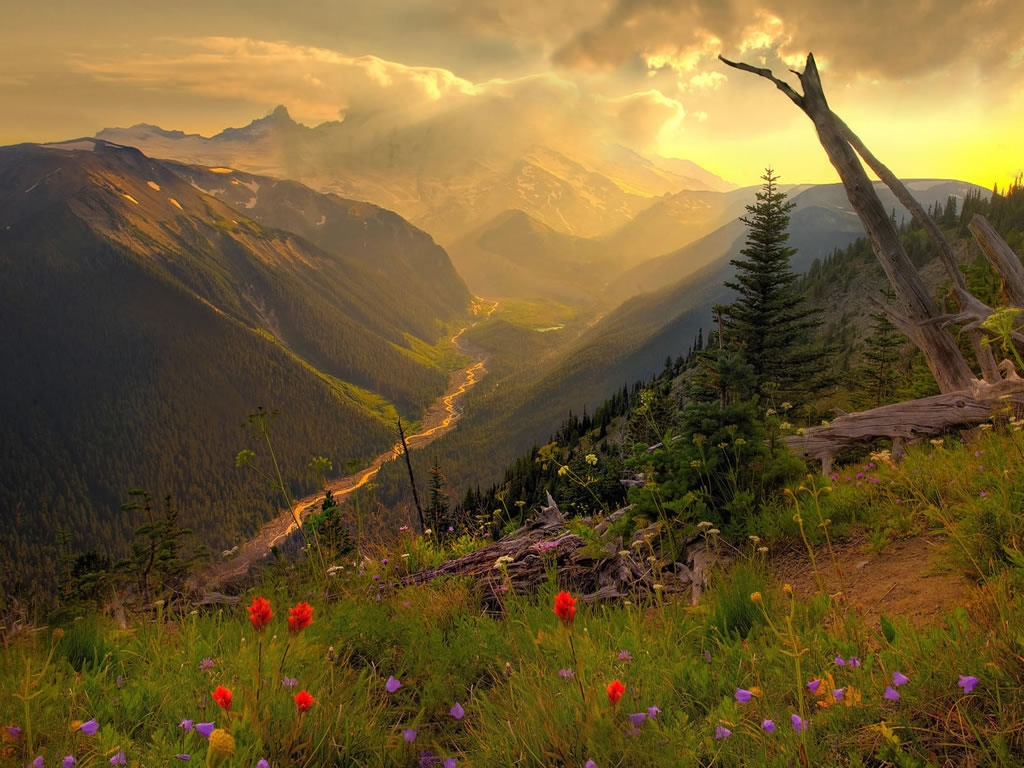 Spring Mountain Scenes Home Awesome    1024x768px HD Wallpaper
