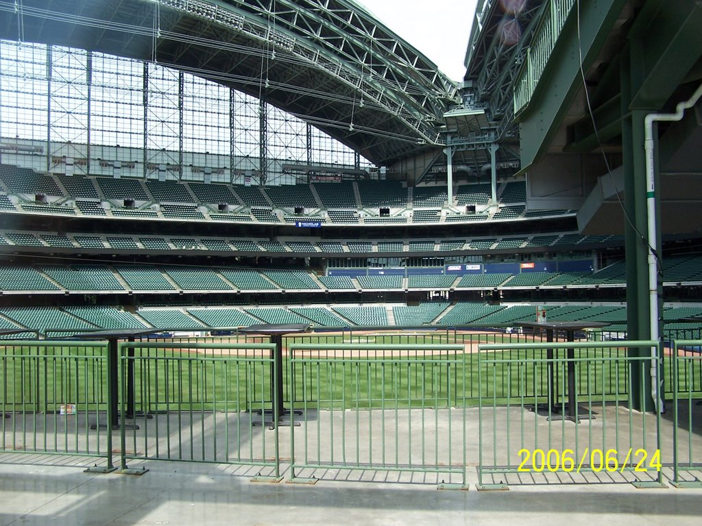 Panoramio   Photo of Miller Park  Milwaukee WI  June 2006 HD Wallpaper