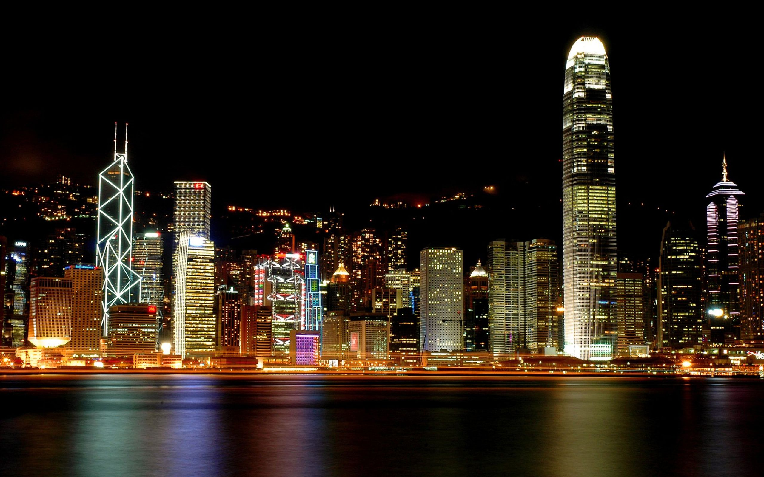 Pin Kong Architecture City Colors Cool Hong Lights on Pinterest HD Wallpaper